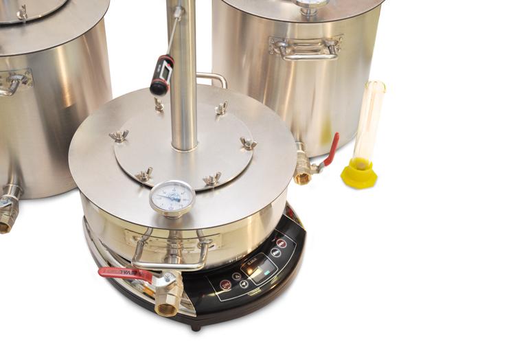 Самогонный аппарат с датчиком температуры домашняя пивоварня челябинск цены на