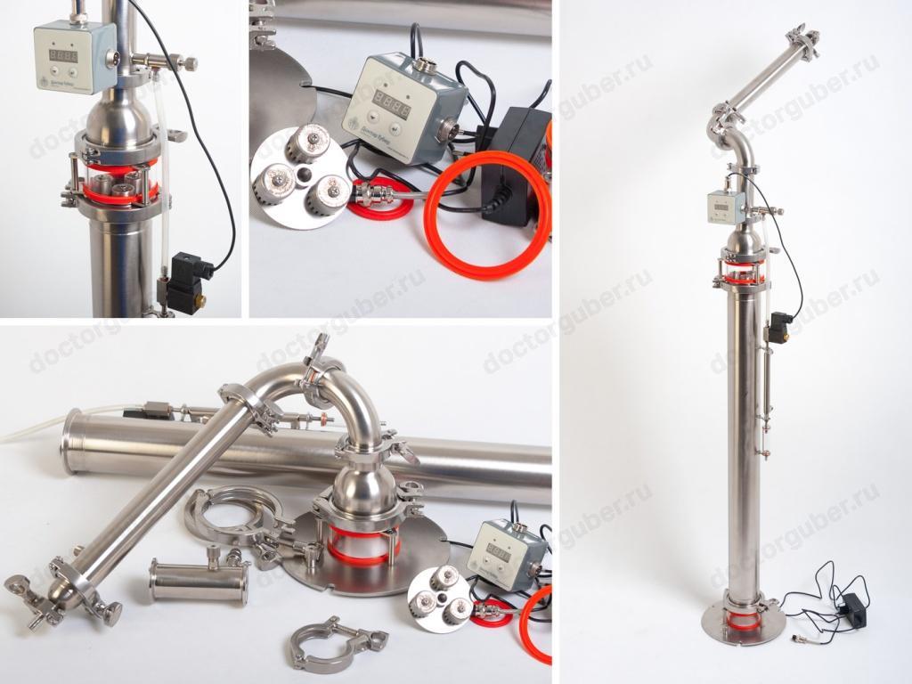 Самогонный аппарат для ректификации изготовление медного самогонного аппарата