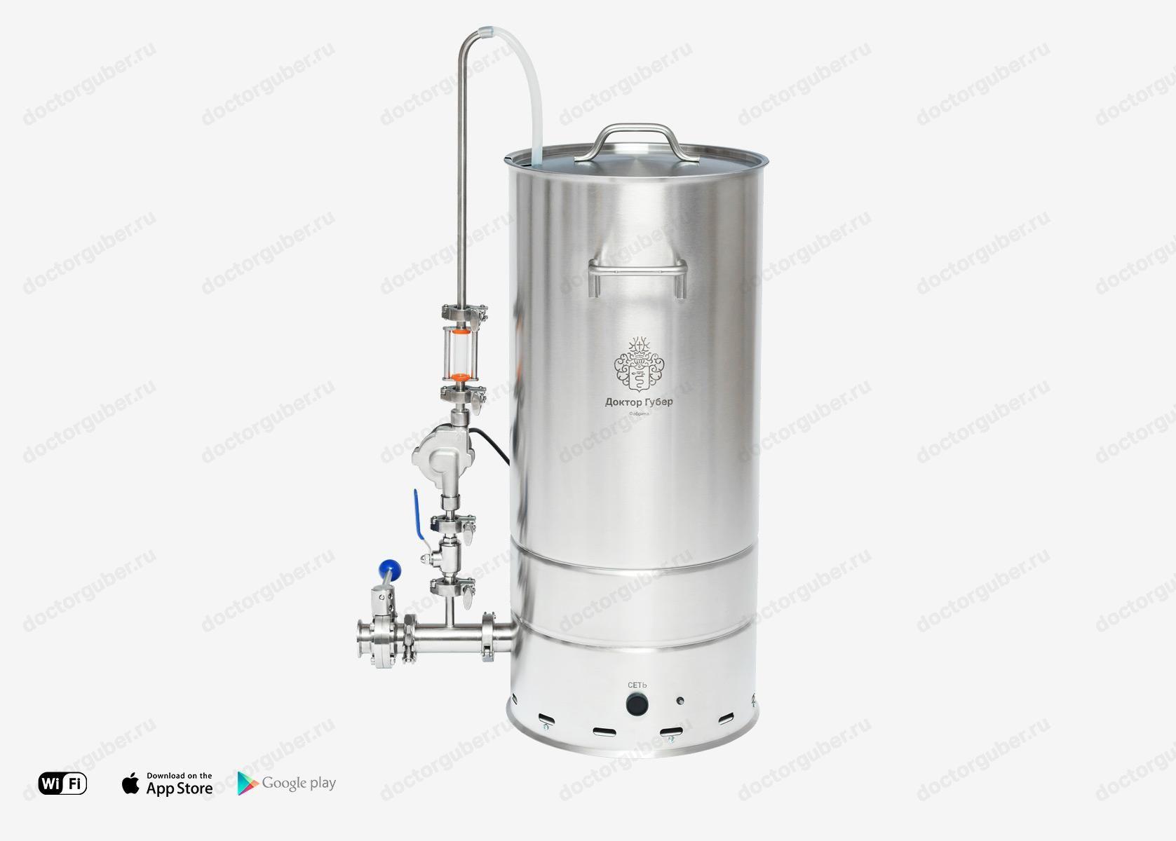 Мини пивоварня рецепт приготовления самогонный аппарат стекло подарок